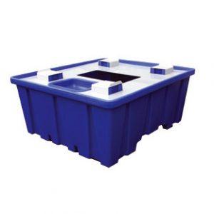Plastist lekkevann ühele konteinerile