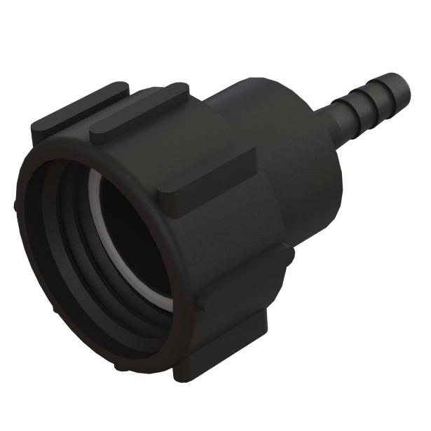 "IBC-konteineri adapter S60X6 -> ½"" toruliitmikuga"