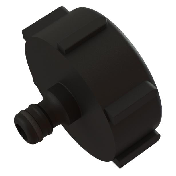 IBC-konteineri adapter S60X6 -> 12,5mm Hozelock pikaliitin
