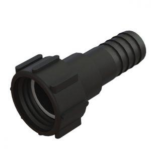 "IBC-konteineri adapter S60X6 -> 1½"" toruliitmikuga"