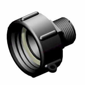 IBC-konteineri adapter S60X6 -> 1″ BSP isane