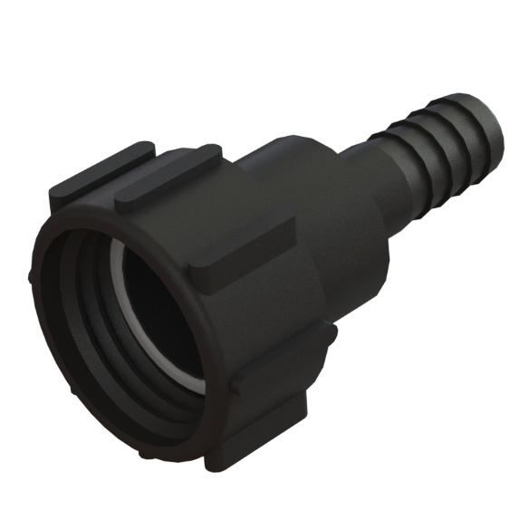 "IBC-konteineri adapter S60X6 -> 1"" toruliitmikuga"