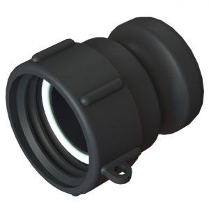 "IBC-konteineri adapter S60X6 -> 2"" Camlock"