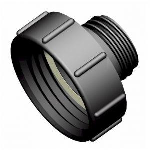 IBC-konteineri adapter S100X8 -> S60X6 isane