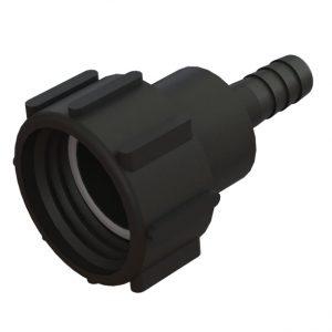 "IBC-konteineri adapter S60X6 -> ¾"" toruliitmikuga"