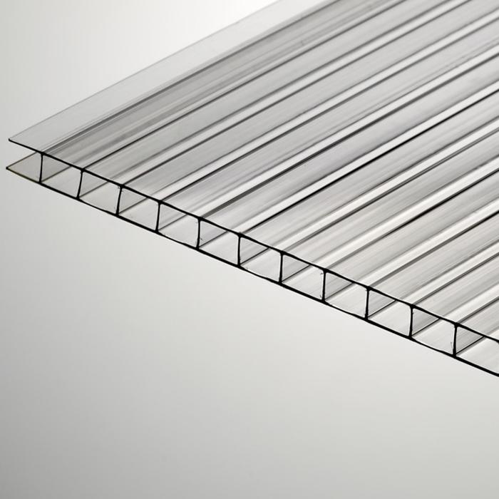 PC-kihtplastplaat 6000x2100, läbipaistev
