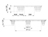 Presspuidust alused 600x800, 500 kg