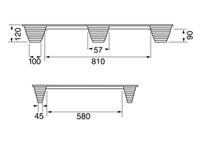Presspuidust alused 800×1200, 250 kg