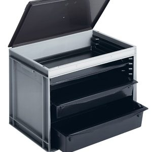 ESD-kandikkast, 600x400x425