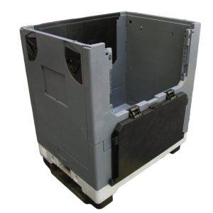 Kokkupandav Kaubaaluste kast ratastega 800x600x910
