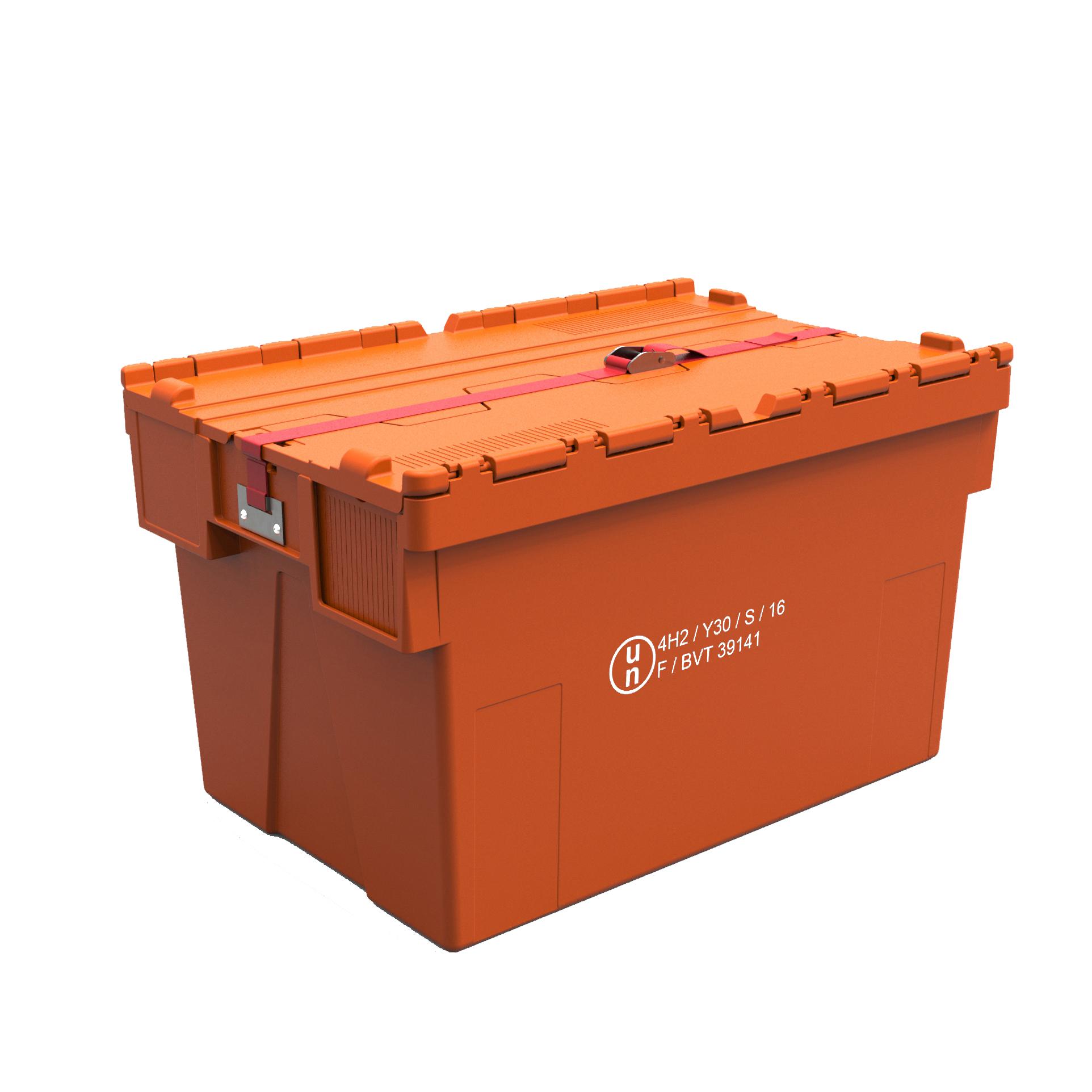 Plastkast 600x400x310-400, UN -sertifitseeritud, VAK