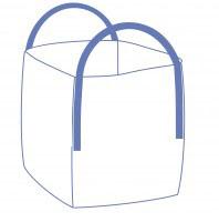 Suur kott, avatud ja ühtlane põhi, 100kg
